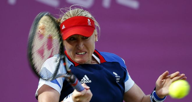 Elena Baltacha: March return for injured former British No 1