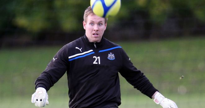 Rob Elliot: Enjoyed his Premier League bow with Newcastle