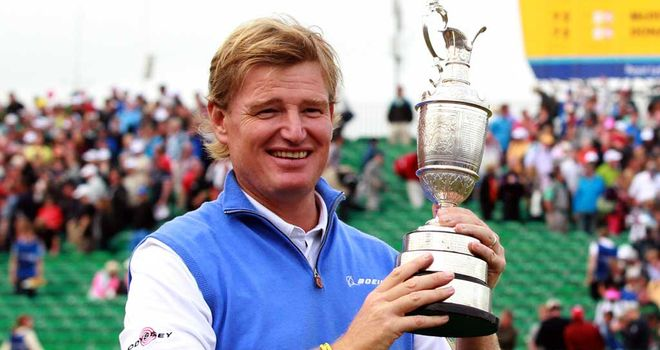 Ernie Els: Stunned to be Open champion once again