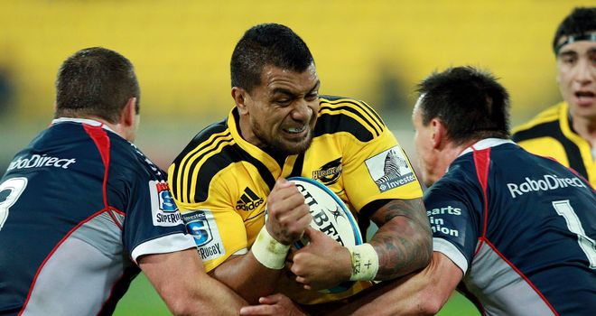 Faifili Levave: Has agreed a new deal with the Hurricanes