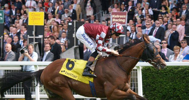 Field Of Dream and Richard Hughes come home ahead