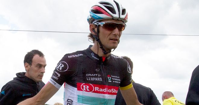 Frank Schleck: Banned until July 13