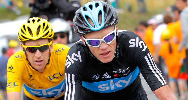 Chris Froome and Bradley Wiggins: Leading the charge in the UCI rankings