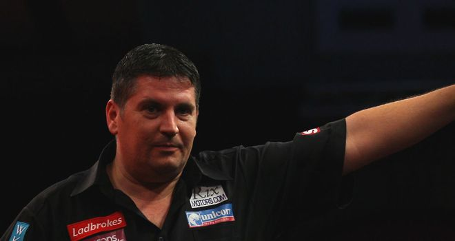 Gary Anderson: Hopeful of being fit for next week's World Matchplay