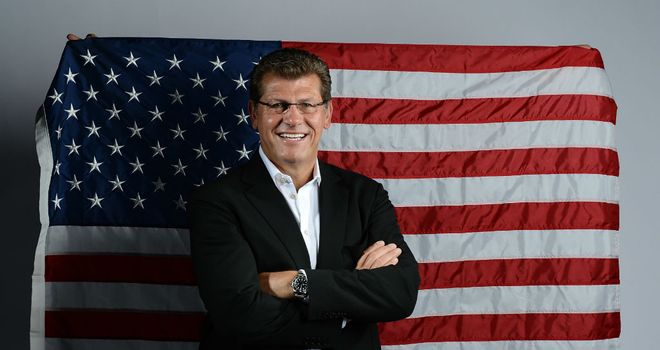 Geno Auriemma: Knows the job is not done as they need to beat either France or Russia
