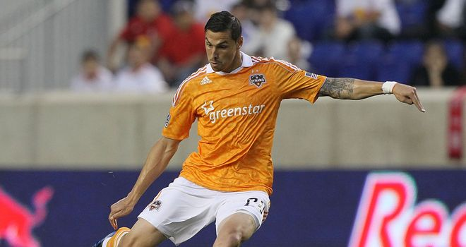 Geoff Cameron: American midfielder needs a work permit to play in the Premier League