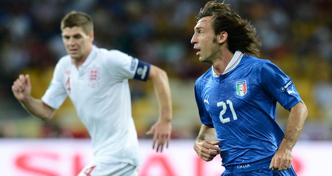 England remain above Italy in the FIFA rankings despite losing to them in the  Euro 2012 quarter-finals