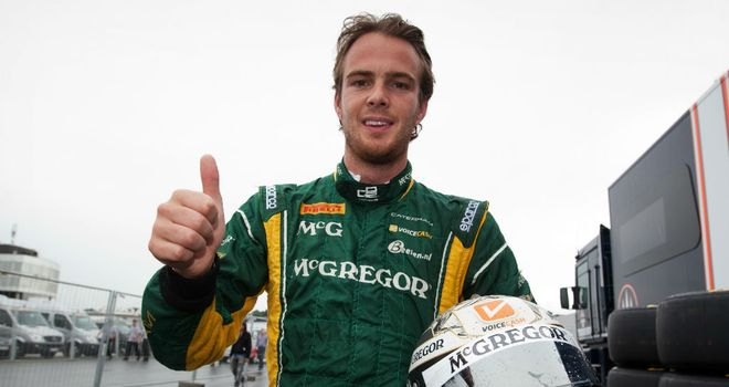 Giedo van der Garde: Claimed pole position after setting early benchmark