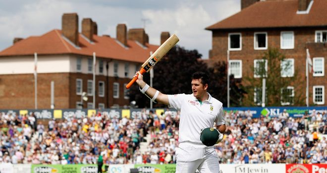 Graeme Smith: Delighted with day three