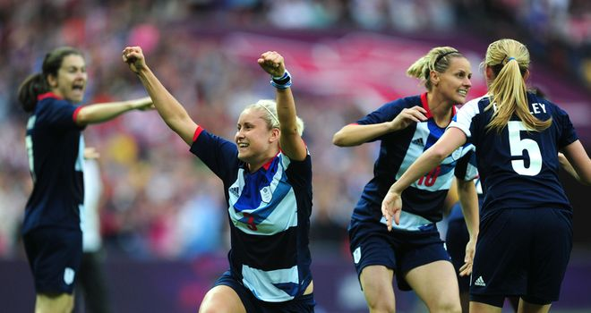 Steph Houghton: Again Great Britain's women's goalscoring hero in the defeat of Brazil
