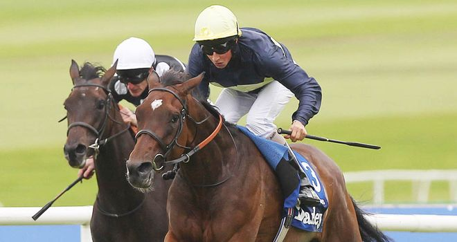 Great Heavens wins last year's Irish Oaks