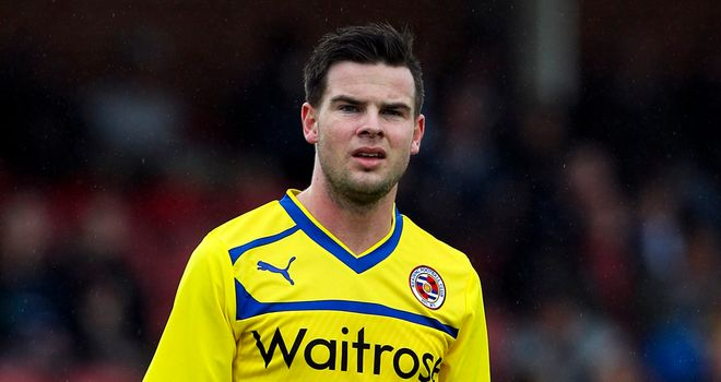 Danny Guthrie: Hoping to earn an England call-up by doing well with Reading
