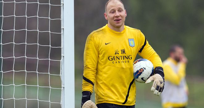 Brad Guzan: Hailed by boss Paul Lambert