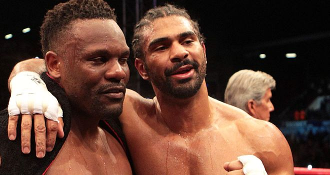 Will Dereck Chisora get another shot at David Haye?
