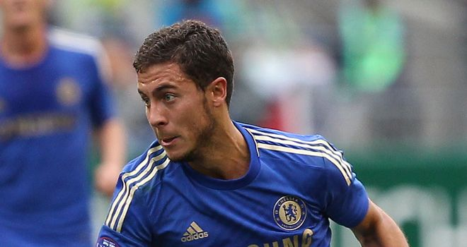 Eden Hazard: The midfielder joined Chelsea in a £32m summer move this summer