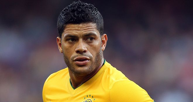 Hulk: Brazilian striker is reportedly on Chelsea and Tottenham's radar