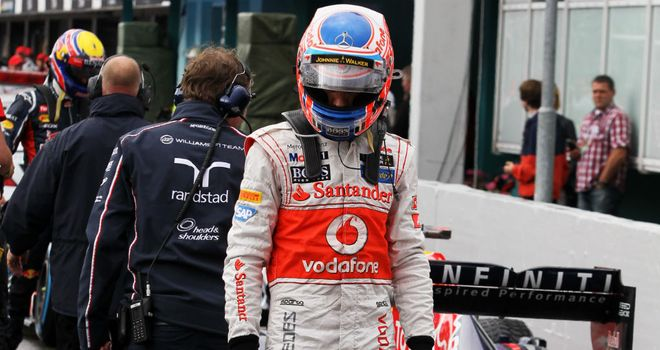 Jenson Button: Hopeful of better on Sunday