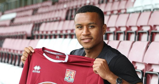 Widdowson: Signed for Northampton