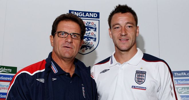 Fabio Capello: Still fuming with the FA for their handling of the John Terry controversy