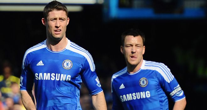 Gary Cahill: Defender feels Chelsea can challenge for the title and has welcomed John Terry's return