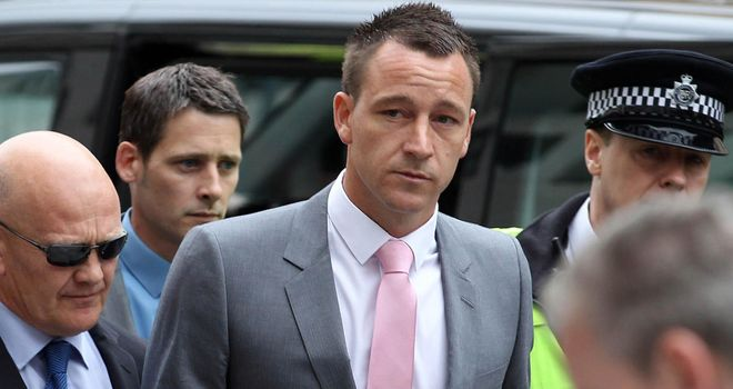 John Terry: Chelsea captain found not guilty of a racially aggravated public order offence