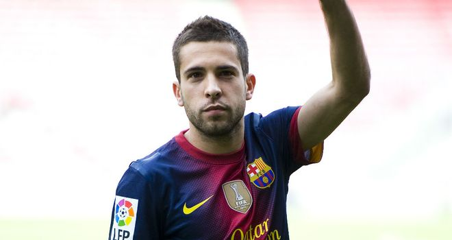 Jordi Alba: Not panicking about Barcelona's poor form