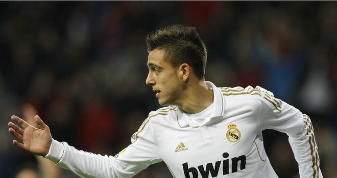 Joselu: The Real Madrid youngster looks set to move back to Germany with Hoffenheim