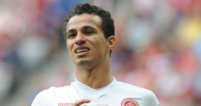 Leandro Damiao: Internacional has been a long-term target for Tottenham but there has been no new bid