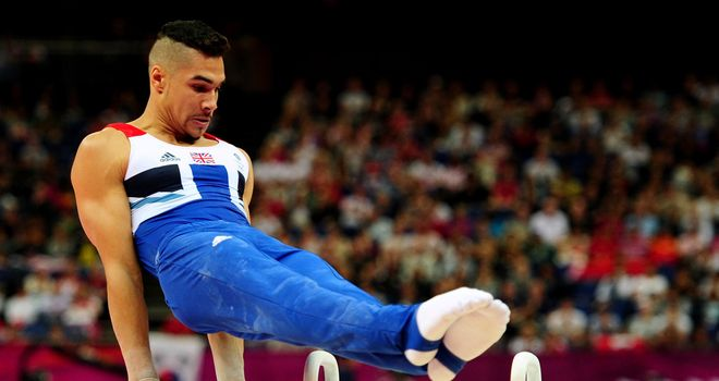 Louis Smith: Impressive on the pommel horse