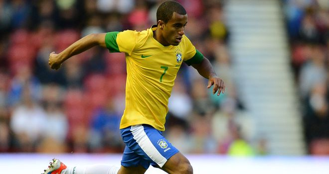 Lucas Moura: Brazilian starlet is on Manchester United's radar