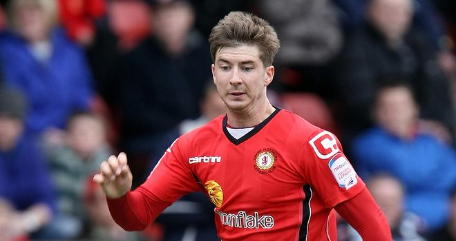 Murphy: Hit the winner for Crewe