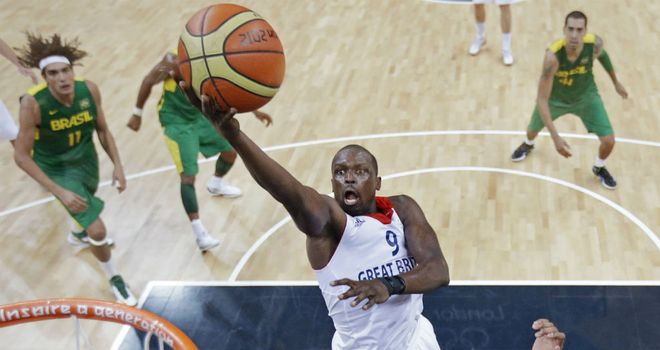 Luol Deng: Scored 12 points for Great Britain