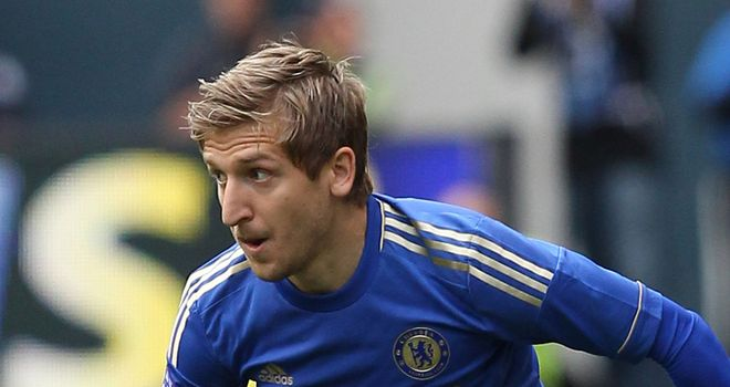 Marko Marin: Chelsea winger has been dogged by injury since his arrival at Stamford Bridge