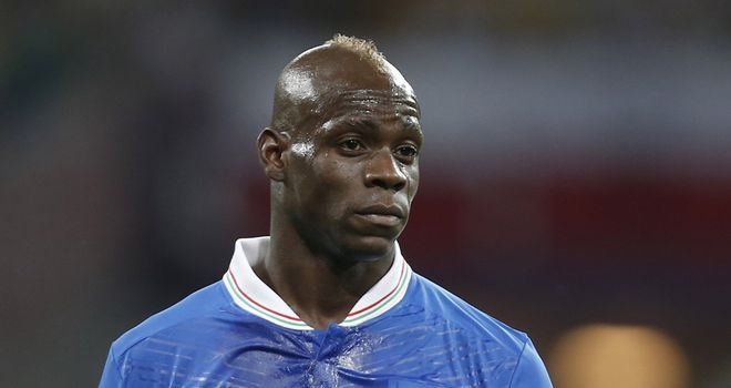 Mario Balotelli: Will miss Italy's games against Bulgaria and Malta