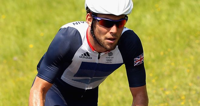 Mark Cavendish: Going for gold on opening day of 2012 Olympics