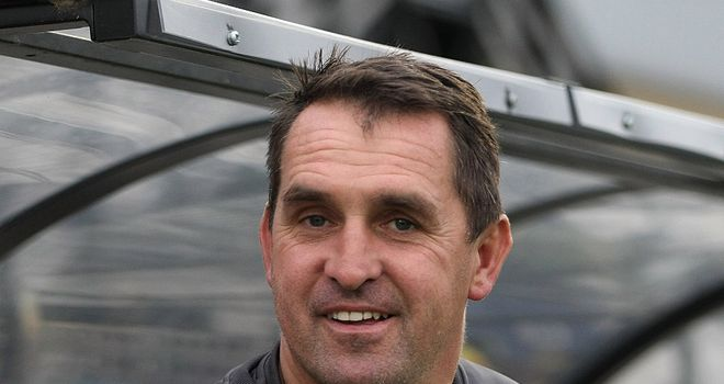 Martin Allen: Wants players to relish lofty heights