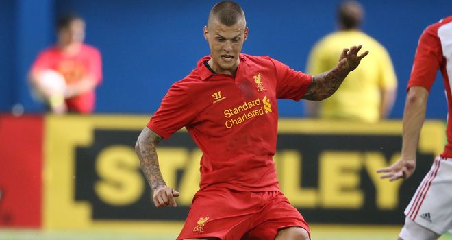 Martin Skrtel: Close to agreeing a new deal with Liverpool