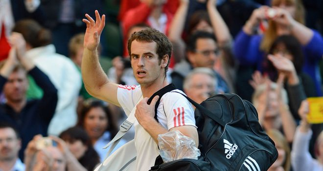 Andy Murray: Wimbledon finalist