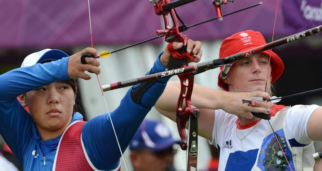 Naomi Folkard was Team Gb's highest ranked archer
