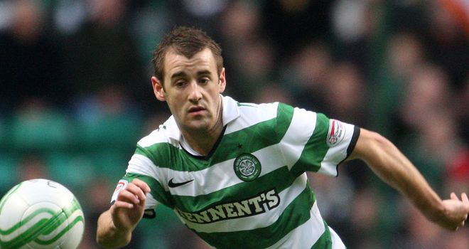 Niall McGinn: The winger swapped Celtic for Aberdeen in the summer after spending last season on-loan at Brentford