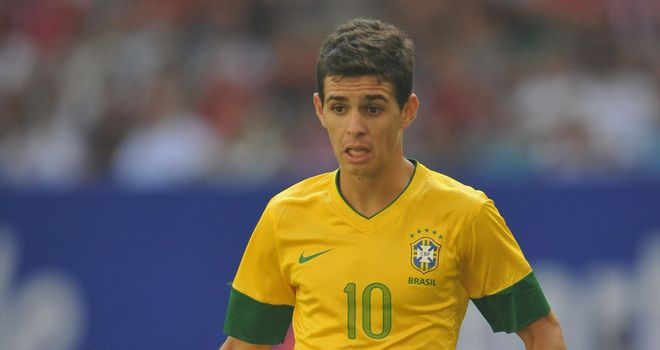 Oscar: Chelsea have not released any details of the deal for the Brazil international