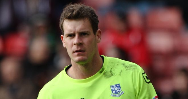 Owain Fon Williams: Bad night in the Tranmere goal