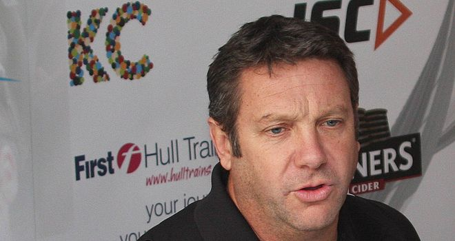 Peter Gentle: Hull coach eager to return to action