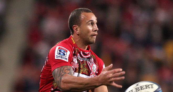 Quade Cooper: Will remain with the Queensland Reds