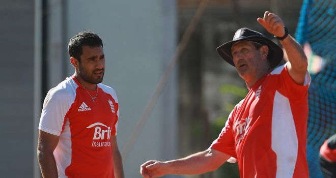 Bopara (l) has long worked with Gooch