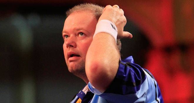 Raymond van Barneveld: Suffered a shock 6-5 defeat to Johnny Haines