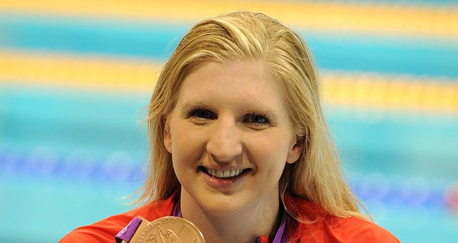 Adlington: Bronze medal in the 400m freestyle