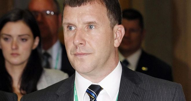Stewart Regan: SFA chief executive