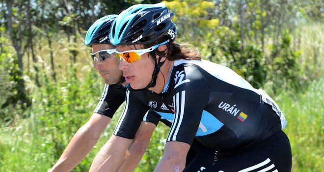Uran: Key man at Vuelta