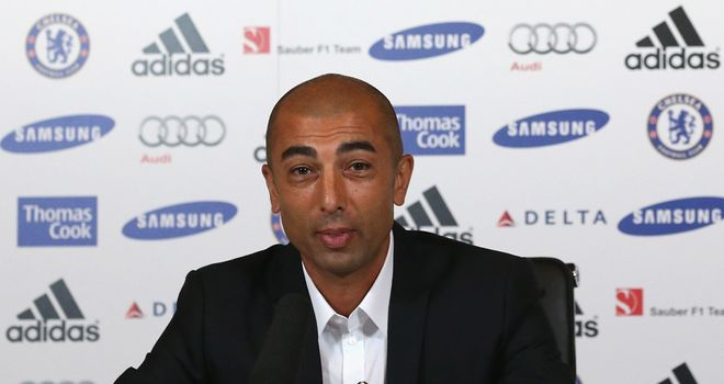 Roberto Di Matteo: Signed Spanish defender Cesar Azpilicueta on Friday